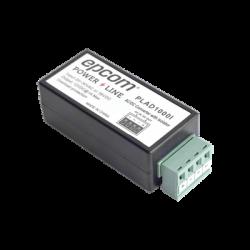 PLAD1000I - Convertidor 24 VCA a 12 VCD / Filtro Contra Ruido para Cámaras TurboHD, CVI, TVI / Envío Largas Distancias