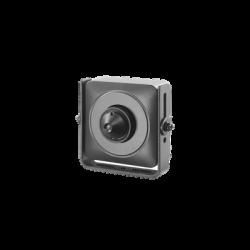 DS-2CS54D8T-PH - Cámara Pinhole Híbrida TurboHD 1080p / CVBS - Seleccionable / Lente 3.7 mm / WDR Real 120 dB / Interior