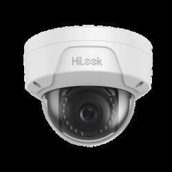IPC-D121H - HiLook Series / Domo IP 2 Megapixel / 30 mts IR / H.265+ / Exterior IP67 / Antivandalica IK10 / PoE / Lente 2.8 mm