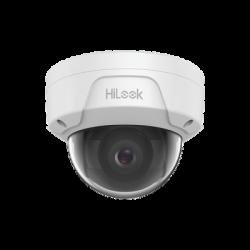 IPC-D141H - HiLook Series / Domo IP 4 Megapixel / 30 mts IR / H.265+ / Exterior IP67 / Antivandalica IK10 / PoE / Lente 2.8 mm