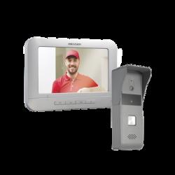 """DSKIS203 - Kit Videoportero: Monitor 7"""" DS-KH2220 + Frente de Calle DS-KB2421-IM"""