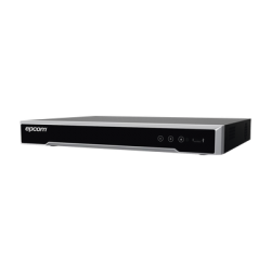 EV5004TURBO-X - DVR 8 Megapixel / 4 Canales TURBOHD + 4 Canales IP / H.265+ / 4 CH Audio / 4 Ent. Alarma