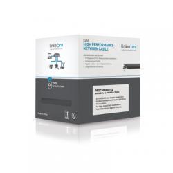 PROCAT6EXTV2 - Bobina de Cable FTP de 305 m (1000 ft) Cat 6+ / Blindado / Cable 100% Cobre / Color Negro / Uso Exterior