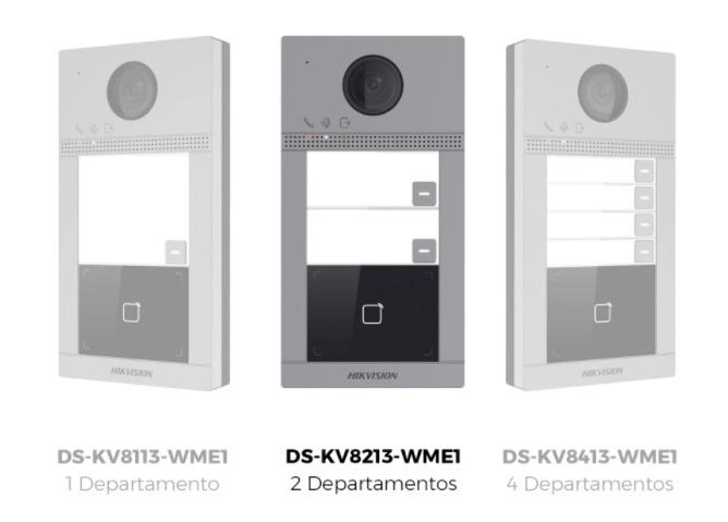 Videoportero IP HIKVISION Diferentes Modelos Multi apartamento