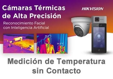 HIKVISION :: Medicion de Temperatura sin Contacto