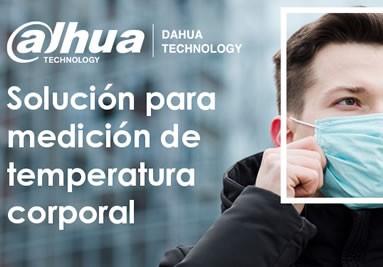 DAHUA :: Camaras para Medicion de Temperatura Corporal