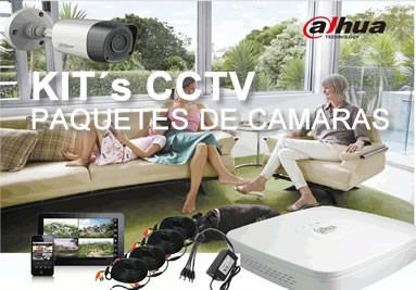 Kits CCTV de Cámaras de Vigilancia